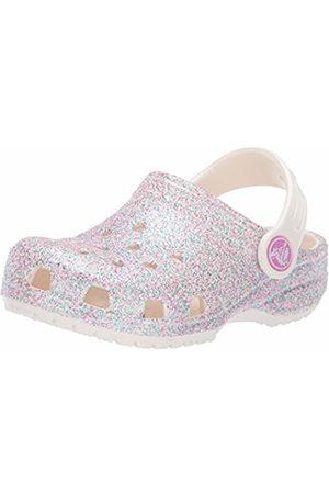 Crocs Unisex Classic Glitter Clog Kids (Oyster 159)