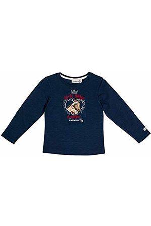 Salt & Pepper Salt and Pepper Girls' Horses Royal Riding Academy Pferdeköpfe Longsleeve T-Shirt, (Indigo 429)