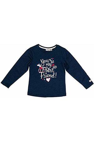Salt & Pepper Salt and Pepper Girls' Cool & Crazy Best Friend Glitterprint Longsleeve T-Shirt, (Indigo 429)