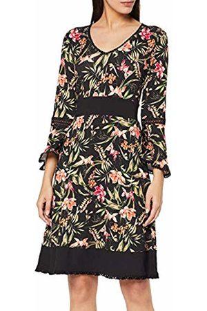 Joe Browns Women's Fluted Sleeve Jersey Dress Multi (Size:12)