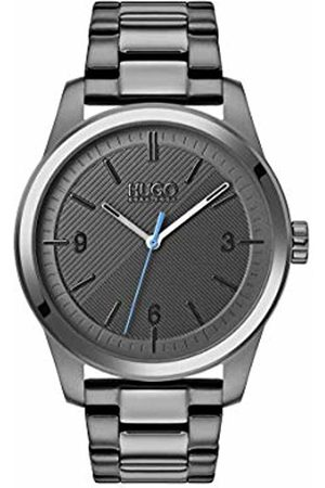 HUGO BOSS Unisex-Adult Analogue Quartz Watch with Stainless Steel Strap 1530119