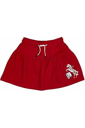 Salt & Pepper Salt and Pepper Girls' Horses Pailletten Skirt, (Cherry 337)