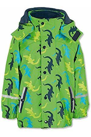 Sterntaler Baby Boys Regenjacke Mit Innenjacke, Chaqueta Impermeable para Bebés, Verde (grün 254), 98 Waterproof Jacket