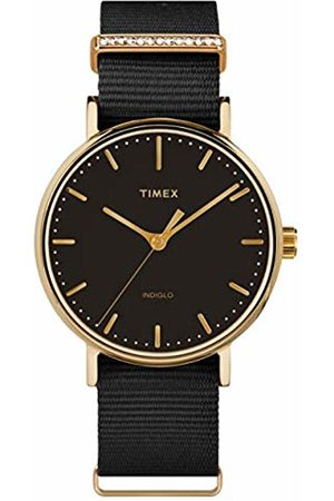 Timex Womens Analogue Classic Quartz Watch with Nylon Strap TW2R49200