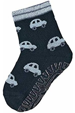 Sterntaler Baby Boys FLI Air Autos Chaussettes, Bleu (Marine 300), 22 Bébé Garçon Calf Socks