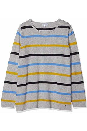 GINA LAURA Women's Pullover, 3farbiger Streifen Jumper