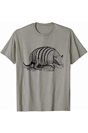 The New Antique Cute Armadillo Print T-Shirt