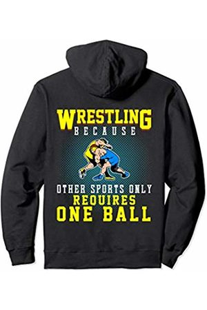 Funny Wrestling Gifts Co Wrestling Gifts Because Other Sports Only for Men Boys Pullover Hoodie