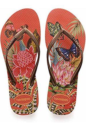 86d4432ff1c65 Slim Tropical, Women's Flip Flops Flip Flops