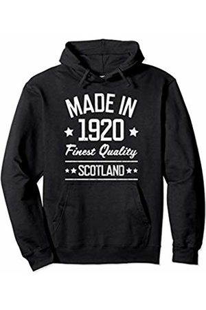 Made in 1920 Gifts for 99 Year Old Scots Made in 1920 Scotland Gift for 99 Year Old Man Woman Pullover Hoodie