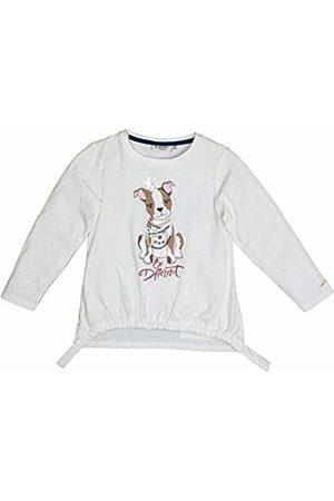 Salt & Pepper Salt and Pepper Girls' Cool & Crazy Hund mit Perlenkette Longsleeve T-Shirt, ( 011)