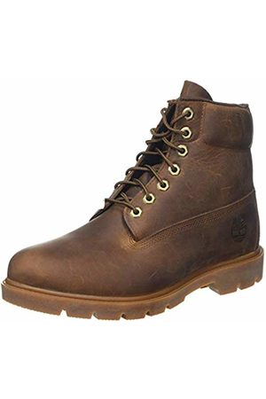 Timberland Men's 6 Inch Basic Non-Contrast Waterproof Lace-up Boots, (Medium Nubuck)