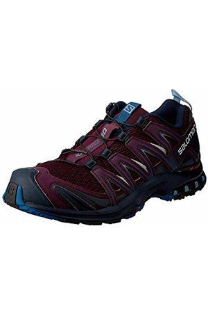Salomon Women's Trail Running Shoes, XA Pro 3D W, Potent /Navy Blazer/Bluestone