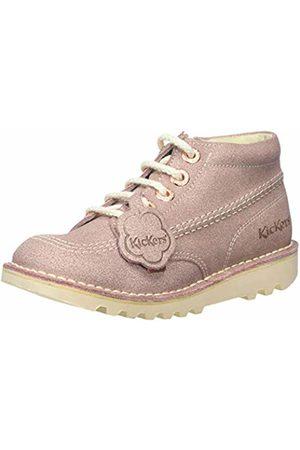 Kickers Girls' Kick Hi Ankle Boots, ( Pnk)
