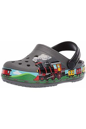 Crocs Unisex FunLab Train Band Clog Kids (Slate 0da)
