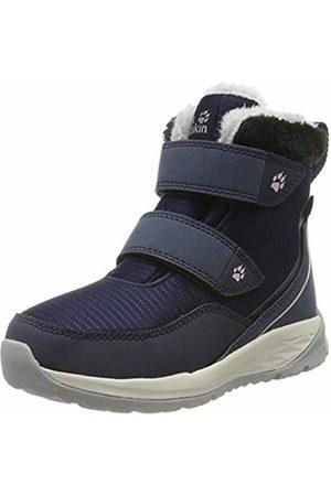 Jack Wolfskin Unisex Kids' Polar Wolf Texapore Mid Vc K Wasserdicht Snow Boots, (Dark /Off- 1171)