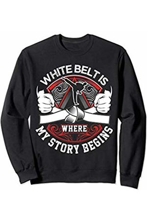 Martial Arts Talk - Fun Karate Gee Gifts & Gear White Belt Is Where My Story Begins For Kids