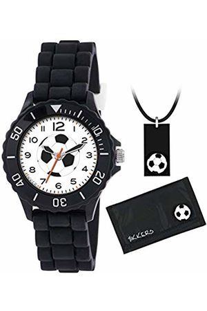 Tikkers Unisex Child Analogue Classic Quartz Watch with Silicone Strap ATK1019