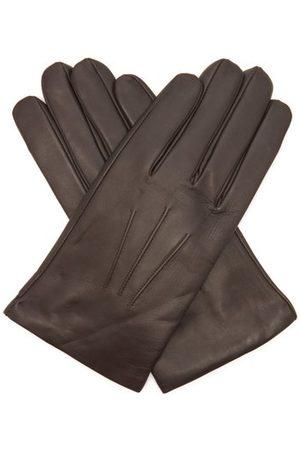 Dents Bath Cashmere-lined Leather Gloves - Mens