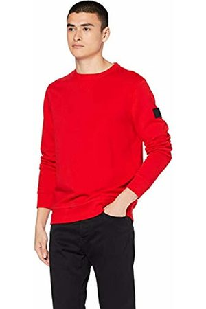 HUGO BOSS Men's Walkup Sweatshirt, (Bright 622)