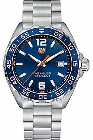 Tag Heuer Men's Analogue Quartz Watch with Stainless Steel Strap WAZ1010.BA0842