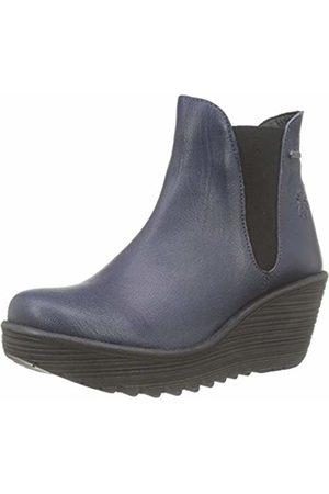 Fly London Women's YAZO528FLY Chelsea Boots, (Ocean 001)