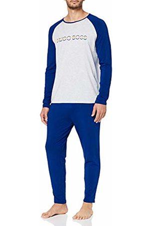 HUGO BOSS Men's Bamboo Long Set Pyjama (Bright 432)