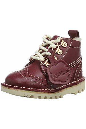 Kickers Baby Girls' Kick Fur Hiker Boots