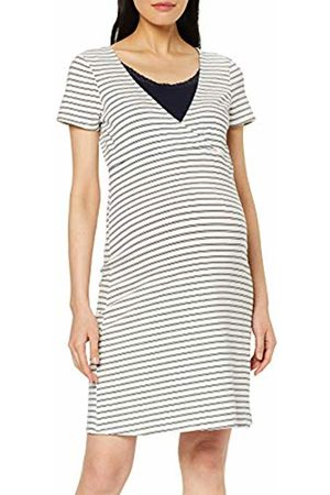 Noppies Women's Dress Nurs Ss Suzy Yd Stripe Maternity Nightie