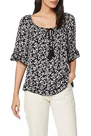 Dorothy Perkins Women's White Ditsy Crinkle Gypsy Top Blouse, 010