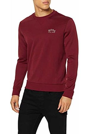 HUGO BOSS Men's Salbo 1e Sweatshirt, Dark