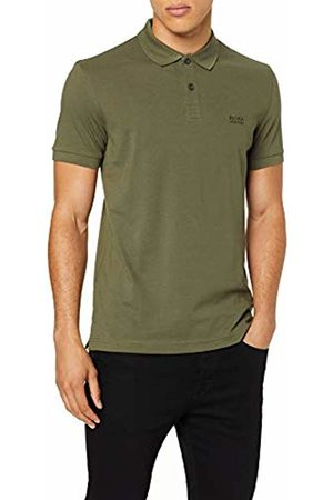HUGO BOSS Men's Piro Polo Shirt, Dark