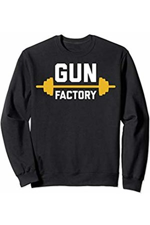 To The T Gun Factory | Graphic Gym Workout Wear for Men and Women Sweatshirt