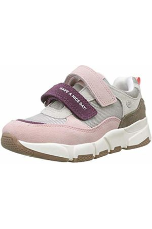 Gioseppo Girls' Eupen Low-Top Sneakers, Taupe/Multicolor
