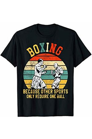 Boxing Mom Shirt Boxing Wrestling Because Other Sports Only Require One Ball T-Shirt