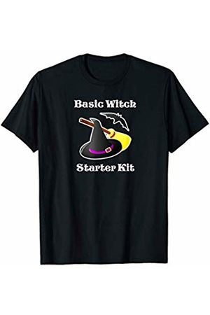 Funny Witch Shirts Funny Basic Witch Starter Kit Witch Hat, Broom