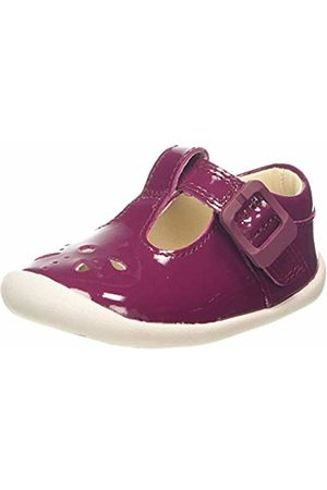 Clarks Unisex Kids' Roamer Star T Low-Top Slippers, Plum Patent