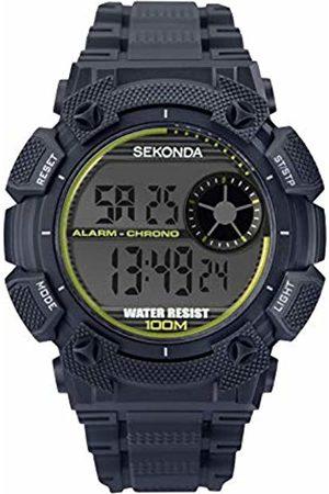 Sekonda Mens Analogue-Digital Watch with Plastic Strap 1677E