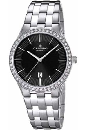 Candino Women's Quartz Watch with Dial Analogue Display and Stainless Steel Bracelet C4544/3