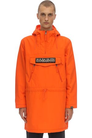 Napapijri Long Rainforest Laminated Nylon Jacket