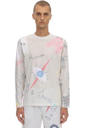 KLSH - KIDS LOVE STAIN HANDS Long Sleeve Print Cotton Jersey T-shirt