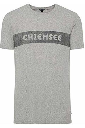 CHIEMSEE Men's T-Shirt, mit plakativen Markenschriftzug