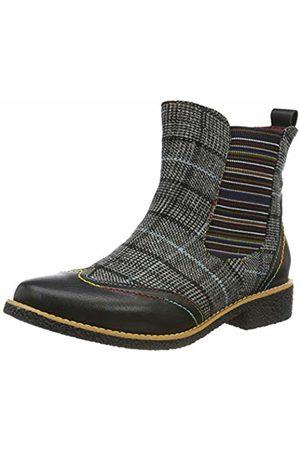 LAURA VITA Women's Cocralieo 06 Chelsea Boots, Noir