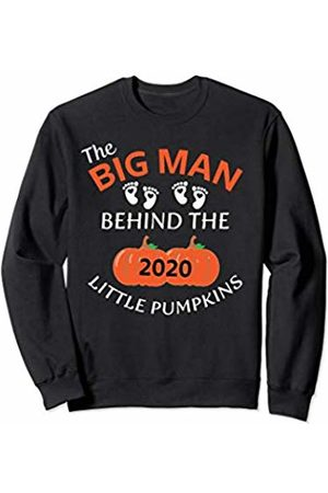 Baby Announcement Co. BGLtd. Twins Pregnancy Reveal Halloween Fall 2020 Men Couples Funny Sweatshirt