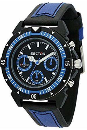 Sector No Limits Men's Multi dial Quartz Watch with Textile Strap R3251197056
