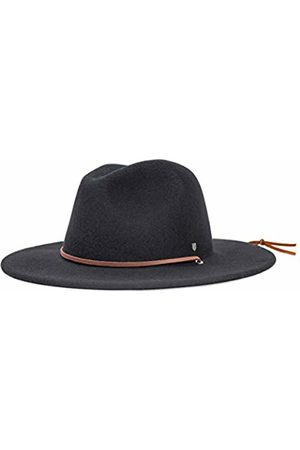 Brixton Men's Field Wide Brim Felt Fedora Hat Newsie Cap