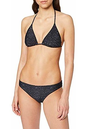 CHIEMSEE Women's Patterned Ruffle Edge Triangle Bikini Set