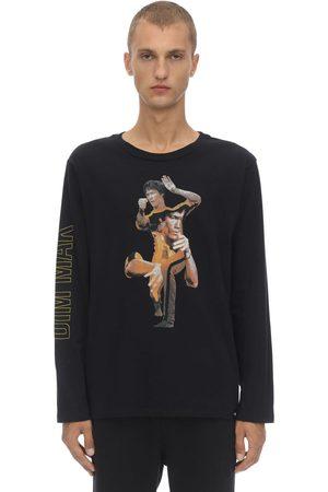 DIM MAK COLLECTION Death Game Collage Cotton Jersey T-shirt