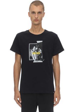 DIM MAK COLLECTION Bruce Lee Teaser Cotton Jersey T-shirt