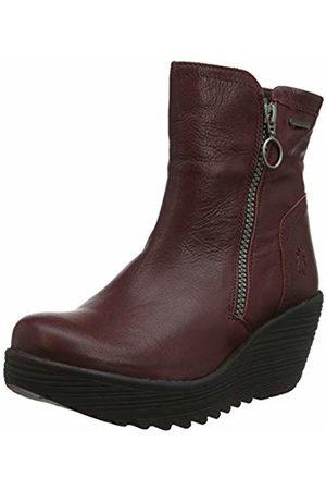 Fly London Women's YOLK377FLY Ankle Boots, (Burgundy 004)